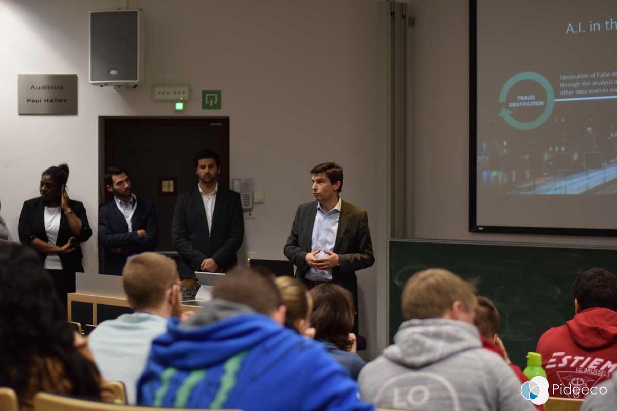 Solvay Business School Estiem Digitization in the financial industry - Pideeco Consultancy